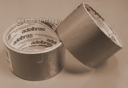 Silver tape
